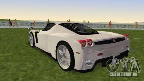 Ferrari Enzo 2003 para GTA Vice City deixou vista
