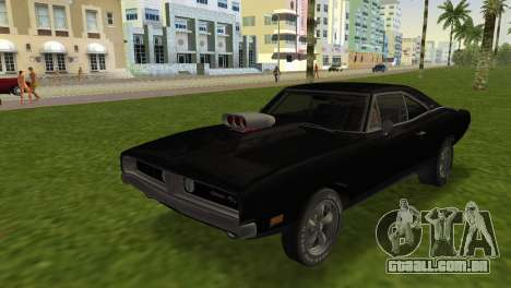 Dodge Charger RT Street Drag 1969 para GTA Vice City
