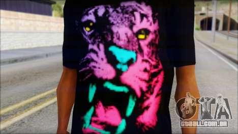 Wild POP Thing Shirt para GTA San Andreas terceira tela