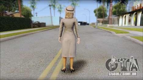 Old Lady para GTA San Andreas segunda tela
