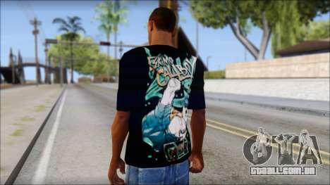 Eskimo Callboy Fan T-Shirt para GTA San Andreas segunda tela