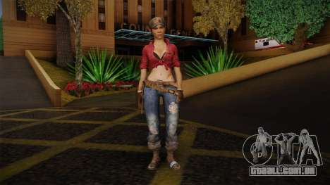 Misty from Call of Duty: Black Ops para GTA San Andreas