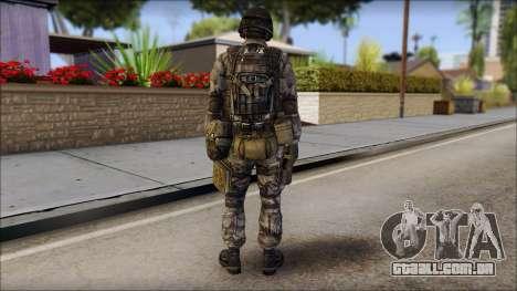 Urban GAFE from Soldier Front 2 para GTA San Andreas segunda tela