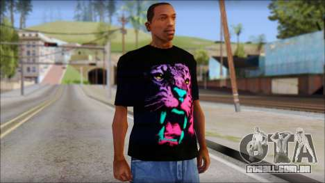 Wild POP Thing Shirt para GTA San Andreas