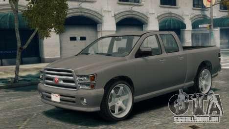 GTA V Bravado Bison para GTA 4
