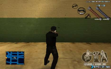 C-HUD by SampHack v.6 para GTA San Andreas segunda tela