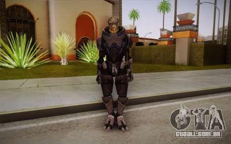 Garrus from Mass Effect 3 para GTA San Andreas