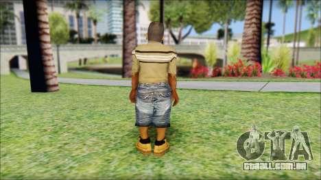 CJ Dwarf v2 para GTA San Andreas segunda tela