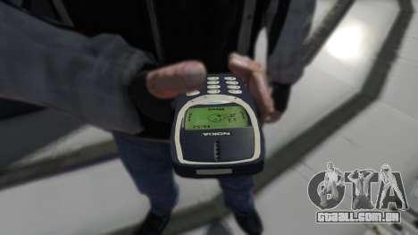 NOKIA 3310 para GTA 4 segundo screenshot