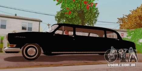 GAZ 21 de Limusina para GTA San Andreas esquerda vista
