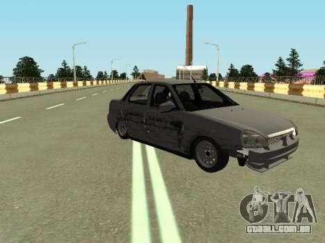 VAZ 2170 para GTA San Andreas vista direita