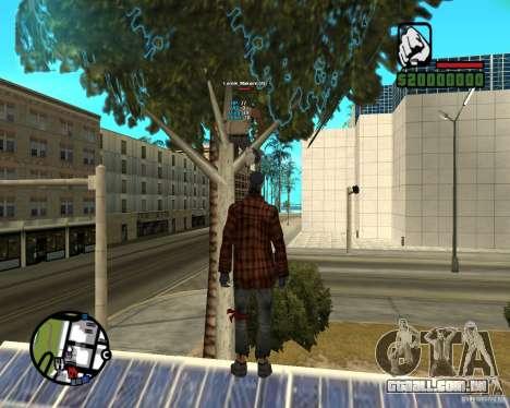 Players Informer para GTA San Andreas segunda tela