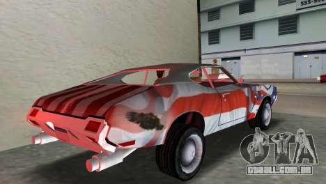 Oldsmobile 442 1970 v2.0 para GTA Vice City deixou vista
