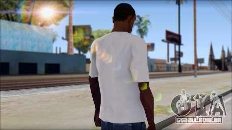 Slash T-Shirt para GTA San Andreas segunda tela