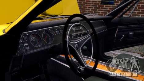 Dodge Charger RT 1969 EPM para GTA 4 vista inferior