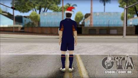 Messi Arsenal Christmas Special para GTA San Andreas segunda tela