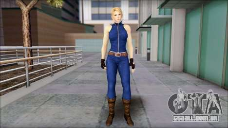 Sarah from Dead or Alive 5 v2 para GTA San Andreas