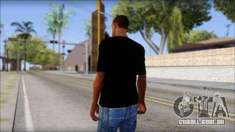 Stiff Little Fingers T-Shirt para GTA San Andreas segunda tela