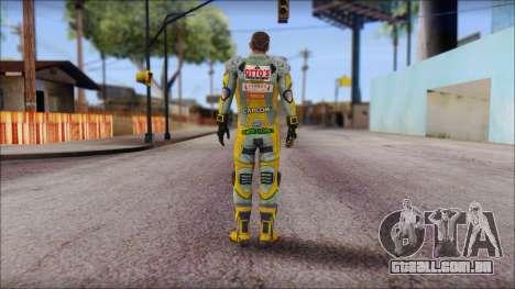 Piers Amarillo no Gorra para GTA San Andreas segunda tela