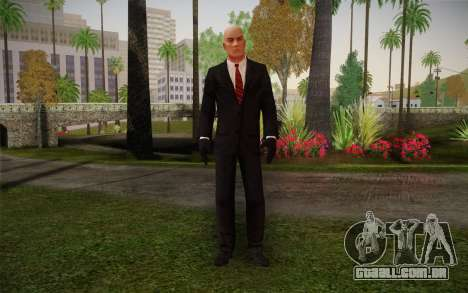 Hitman Blood Money Agent 47 para GTA San Andreas