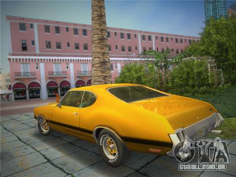 Oldsmobile 442 1970 para GTA Vice City deixou vista