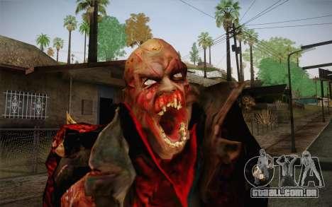Zombie Heller from Prototype 2 para GTA San Andreas terceira tela