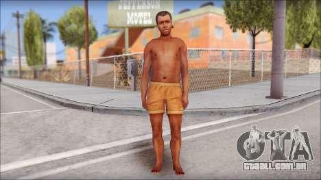 Beach Character 4 para GTA San Andreas segunda tela