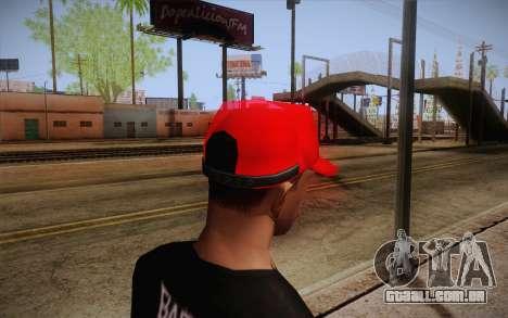 Super Mario Cap para GTA San Andreas segunda tela