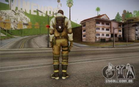 Shona from Resident Evil Operation Raccoon City para GTA San Andreas segunda tela