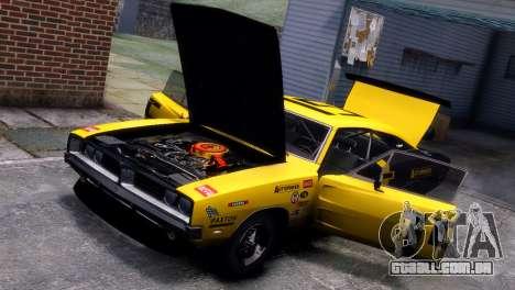 Dodge Charger RT 1969 EPM para GTA 4 vista lateral