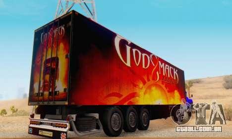 Godsmack - 1000hp Trailer 2014 para GTA San Andreas vista direita