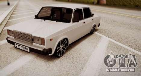VAZ 2107 Mansory para GTA San Andreas