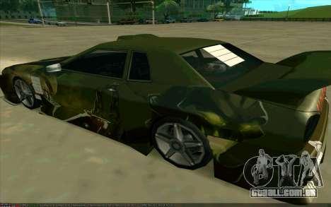 O trabalho da pintura Pudge (Dota 2) para Elegia para GTA San Andreas esquerda vista