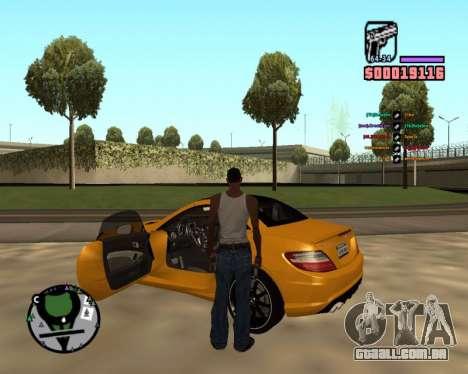 DLock para GTA San Andreas terceira tela