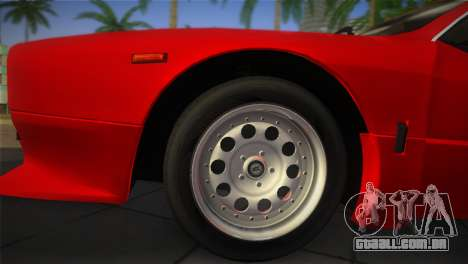 Lancia Rally 037 1982 para GTA Vice City vista direita