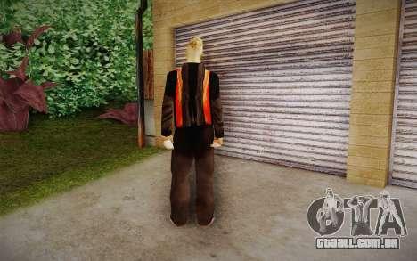 Corey Taylor Skin para GTA San Andreas segunda tela