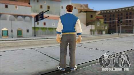 Ted from Bully Scholarship Edition para GTA San Andreas terceira tela