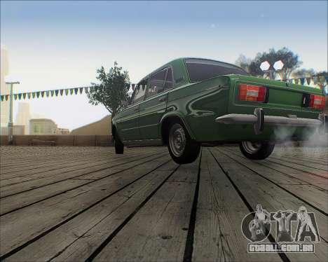 VAZ 2106 Tuneable para GTA San Andreas esquerda vista