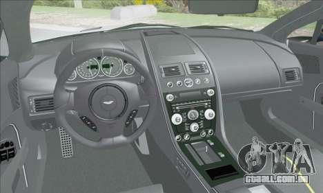 Aston Martin V12 Vantage S 2013 para GTA San Andreas vista inferior