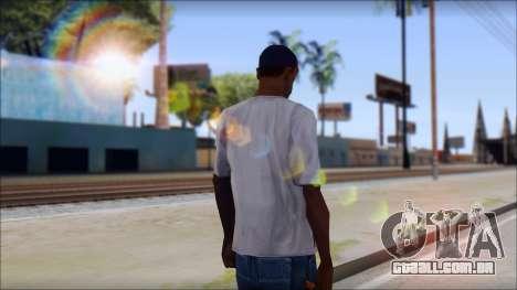 Gangnam Style T-Shirt para GTA San Andreas segunda tela