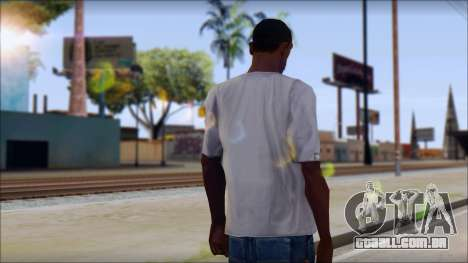 Phillies T-Shirt para GTA San Andreas segunda tela