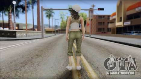 Um Aspirante A Miss para GTA San Andreas segunda tela