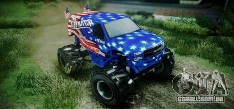 The Liberator - DLC Independence para GTA San Andreas