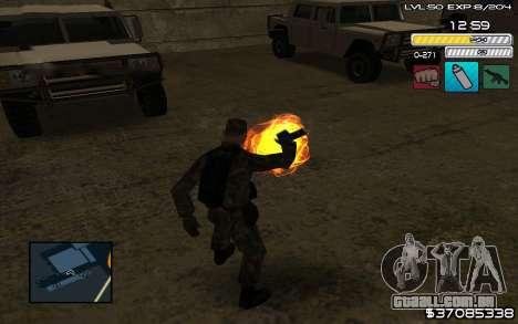 C-HUD by SampHack v.9 para GTA San Andreas terceira tela