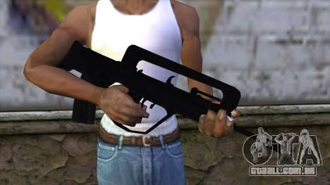 Famas from CS:GO v2 para GTA San Andreas terceira tela