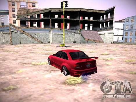 Audi A4 Extrema para GTA San Andreas esquerda vista