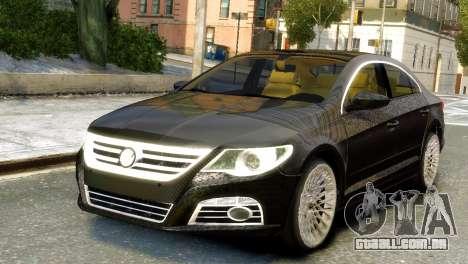Volkswagen CC para GTA 4