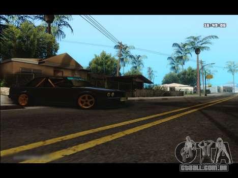 BMW e30 UDC para GTA San Andreas esquerda vista