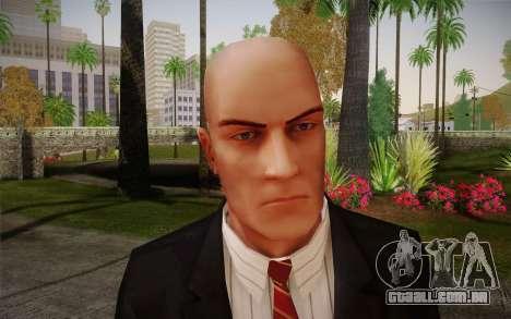 Hitman Blood Money Agent 47 para GTA San Andreas terceira tela