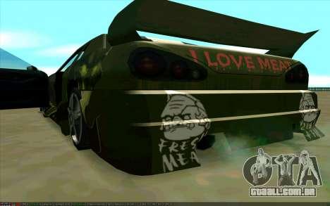 O trabalho da pintura Pudge (Dota 2) para Elegia para GTA San Andreas vista direita